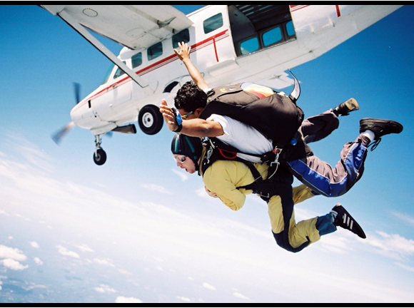 no danger diaries skydive with less abled adventurer