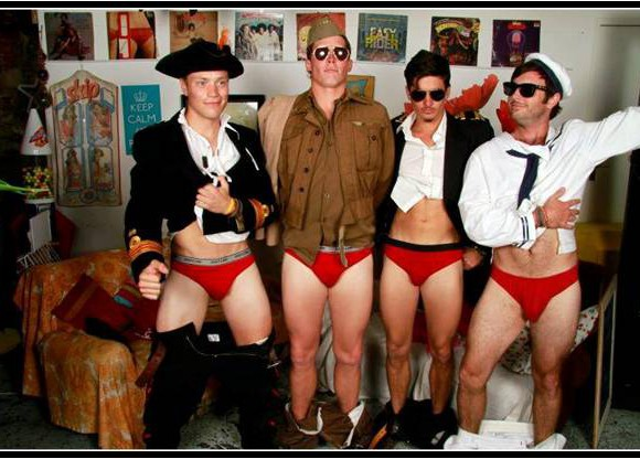 no danger diaries strip at hens party good cause