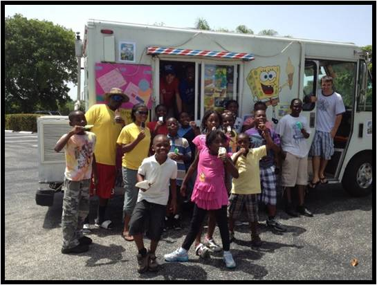no danger diaries hand out free ice creams
